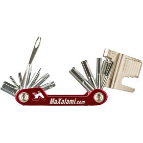 MaXalami K-22 Monitoimityökalu, red/silver